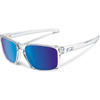 Oakley Sliver, polished clear/Lens: sapphire iridium - Sonnenbrille
