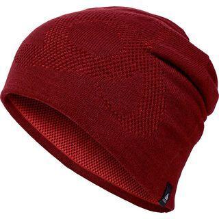 Odlo Hat Mid Gage Reversible Warm, syrah-fiery red - Mütze