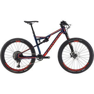 Cannondale Habit Carbon 1 2017, midnight blue/red - Mountainbike