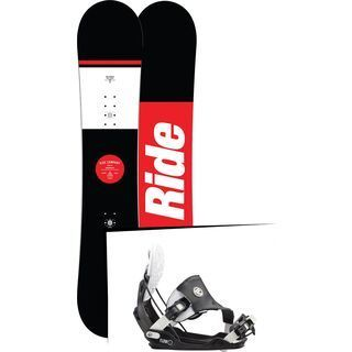 Set: Ride Agenda 2017 + Flow Five Hybrid 2016, stormtrooper - Snowboardset