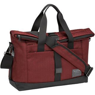 Burton Charter Messenger, Zinfandel Herringbone - Messenger Bag