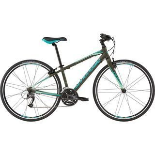 Cannondale Quick Women's 4 2016, green clay/turquoise - Fitnessbike