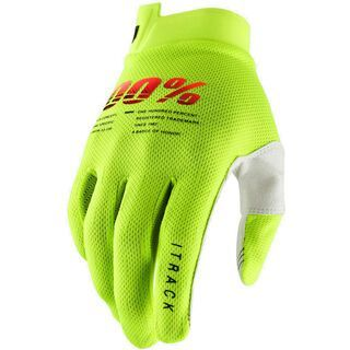100% iTrack Glove fluo yellow