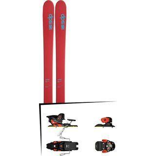 DPS Skis Set: Wailer 105 Hybrid T2 2016 + Salomon Warden MNC 13