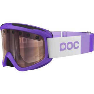 POC Iris Stripes, mercury purple/Lens: bronze silver mirror - Skibrille