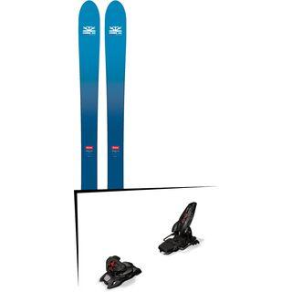 Set: DPS Skis Wailer F106 Foundation 2018 + Marker Jester 16 ID black
