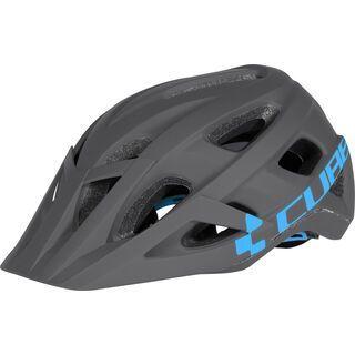 Cube Helm AM Race, grey´n´blue - Fahrradhelm