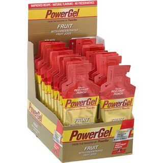 PowerBar PowerGel Fruit - Red Fruit Punch (Box) - Energie Gel