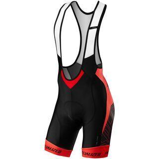 Specialized SL Pro Bib Short, black/red team - Radhose