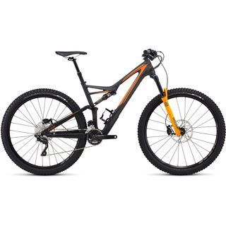 Specialized Stumpjumper FSR Comp Carbon 29 2016, black/orange - Mountainbike