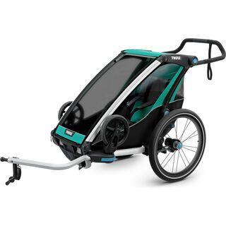 Thule Chariot Lite 1 2019, blue grass/black - Fahrradanhänger