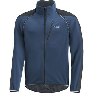 Gore Wear C3 Windstopper Phantom Zip-Off Jacke, blue/black - Radjacke