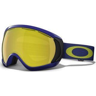 Oakley Canopy, Peacoat Blue/24k Iridium - Skibrille