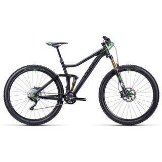 Cube Stereo 140 Super HPC Race 29 2015, carbon/green - Mountainbike