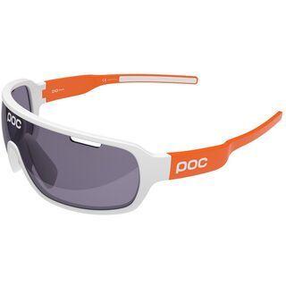 POC DO Blade AVIP, white/zink orange/Lens: violet - Sportbrille