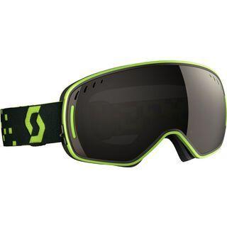 Scott LCG inkl. Wechselscheibe, green grey/Lens: solar black chrome - Skibrille