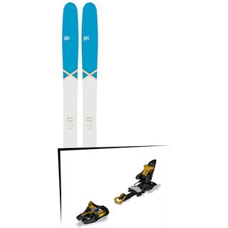 DPS Skis Set: Wailer 112 RP2 Pure3 Special Edition 2016 + Marker Kingpin 10