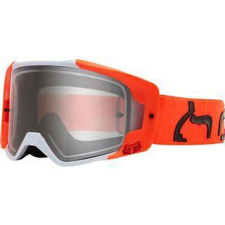 Fox Vue Dusc Goggle, fluo orange/Lens: clear - MX Brille