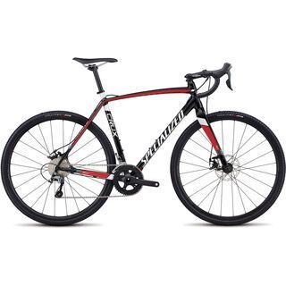 Specialized *** 2. Wahl *** CruX E5 2018 | Größe 52 cm, black/red/met white - Crossrad