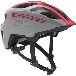 Scott Spunto Junior Helmet, vogue silver/pink RC - Fahrradhelm