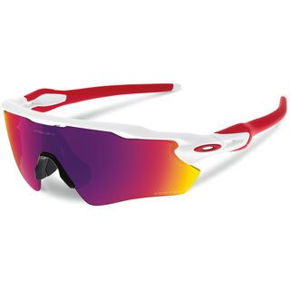 Oakley Radar EV Path Prizm Road, polished white - Sportbrille