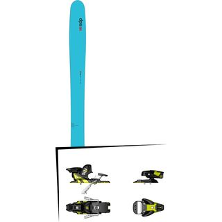 DPS Skis Set: Yvette 112 RP2 Hybrid 2016 + Salomon STH2 WTR 13