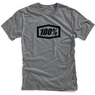 100% Essential T-Shirt, gunmetal heather