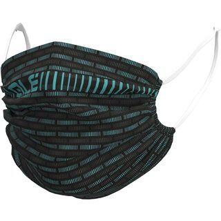 Ale Road Face Mask (nicht retournierbar) black-turquoise