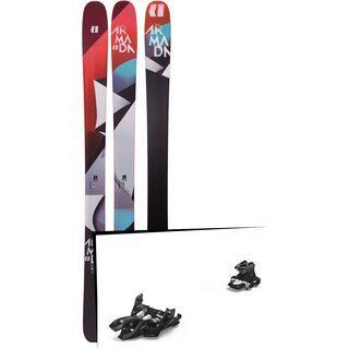 Set: Armada Trace 98 2019 + Marker Alpinist 9 black/titanium