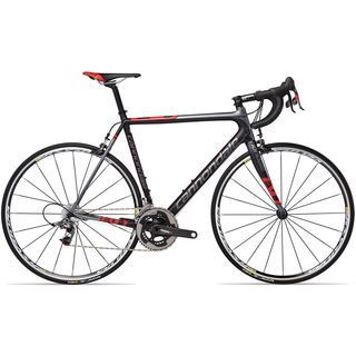 *** 2. Wahl *** Cannondale SuperSix Evo 2 Red 2013, exposed carbon w/ charcoal gray matte - Rennrad   Rahmenhöhe 58 cm