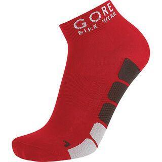 Gore Bike Wear Power Socken, red/black