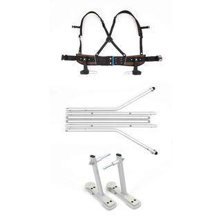 Croozer Ski Adapter Set Snap & Ski - Anhänger-Umrüstset