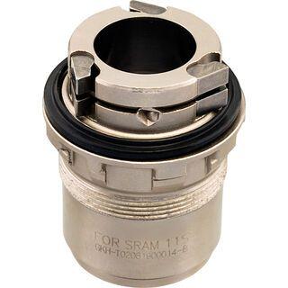 Spank XX1 Freehub Adaptor for Spike/Spoon Rear Hubs, silver - Freilauf