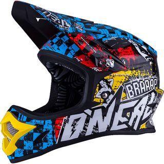 *** 2. Wahl *** ONeal Fury Fidlock DH Kids Helmet Evo Wild, multi - Fahrradhelm   Größe L // 51-52 cm