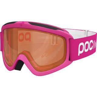 POC POCito Iris, fluorescent pink/Lens: orange - Skibrille