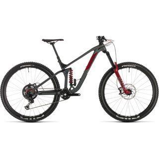 Cube Stereo 170 TM 29 2020, grey´n´red - Mountainbike
