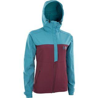 ION Softshell Jacket Shelter Wms, laguna green - Radjacke