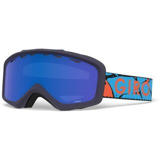 Giro Grade, blue rock/Lens: grey cobalt - Skibrille