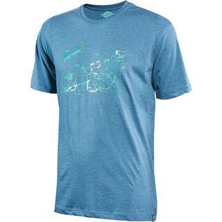 Platzangst Cut Function T-Shirt, blue - Radtrikot