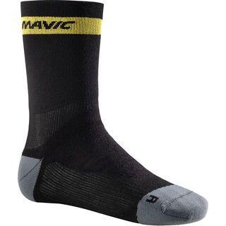 Mavic Ksyrium Elite Thermo Sock, black / dark cloud - Radsocken
