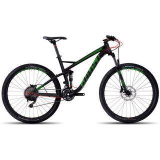 Ghost Kato FS 3 AL 2017, black/green/red - Mountainbike