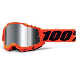 100% Accuri Silver Flash neon orange