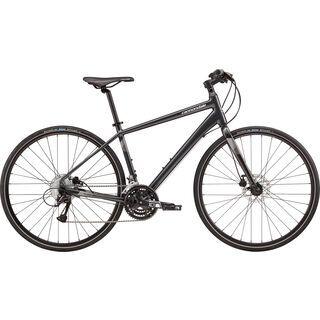 *** 2. Wahl *** Cannondale Quick 5 Disc 2018, black/mg white/silver - Fitnessbike | Größe L // 50 cm