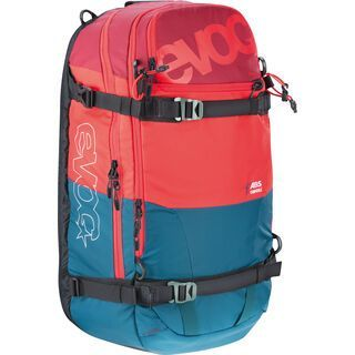 Evoc Zip-On ABS Guide 30l Team, petrol/red/ruby - ABS Zip-On