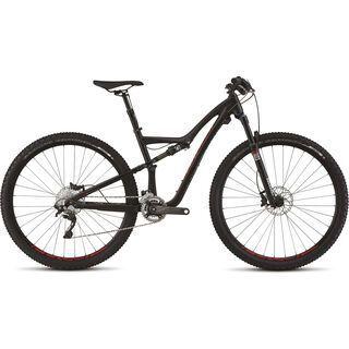 Specialized Rumor Elite 2015, Satin Black/Dark Silver/Flo Red - Mountainbike