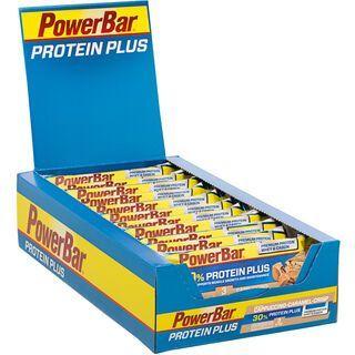 PowerBar Protein Plus 30% - Cappuccino-Caramel-Crisp (Box) - Proteinriegel