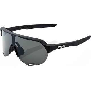 100% S2 inkl. WS, soft tact black/Lens: smoke - Sportbrille