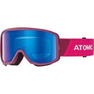 Atomic Count JR Cylindrical, berry/pink/Lens: blue flash - Skibrille