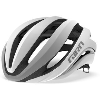 Giro Aether MIPS, matte white/silver - Fahrradhelm