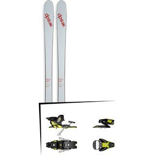 DPS Skis Set: Cassiar 85 Pure3 2016 + Salomon STH2 WTR 13
